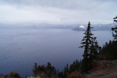 Vista do Crater Lake